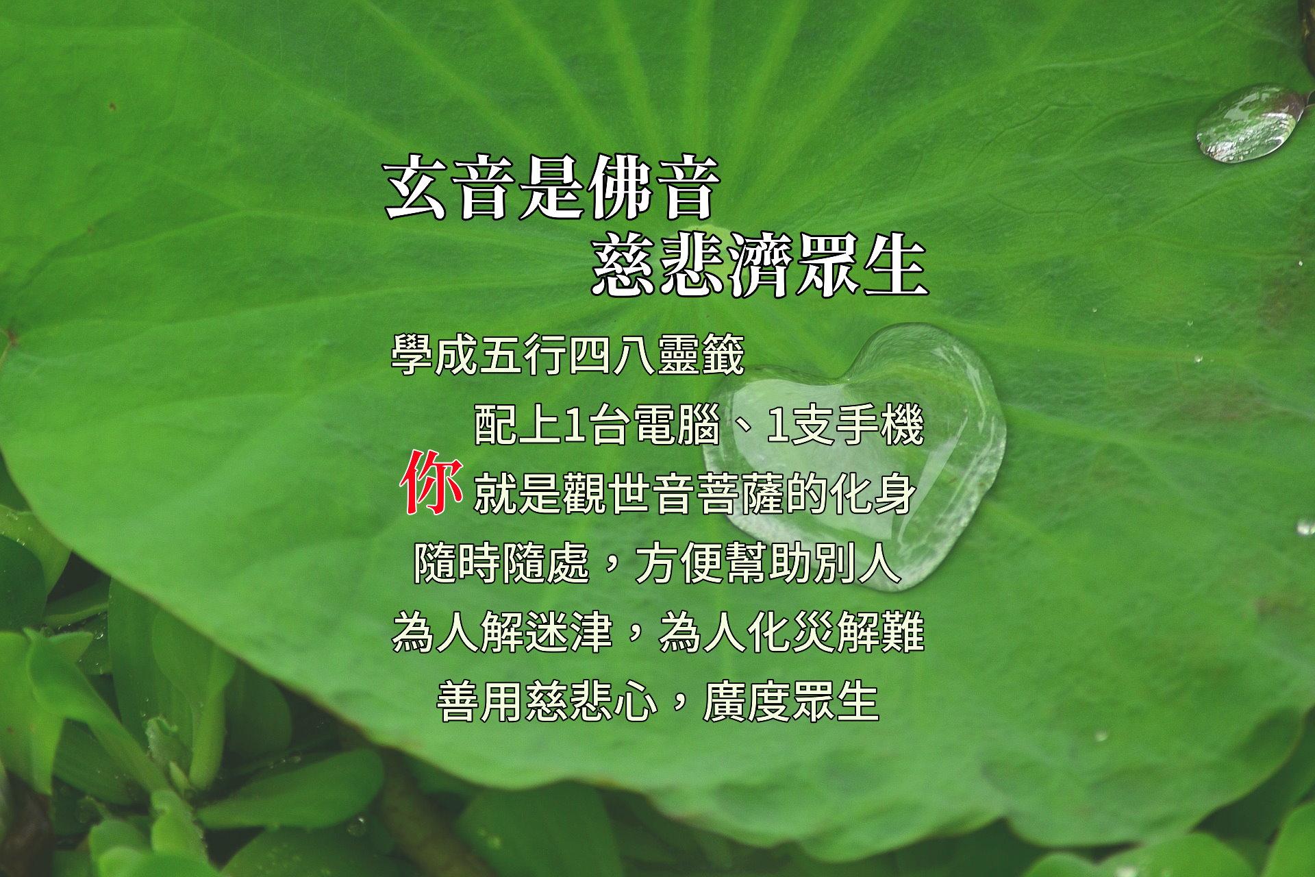 紫竹林觀世音菩薩 祈願法